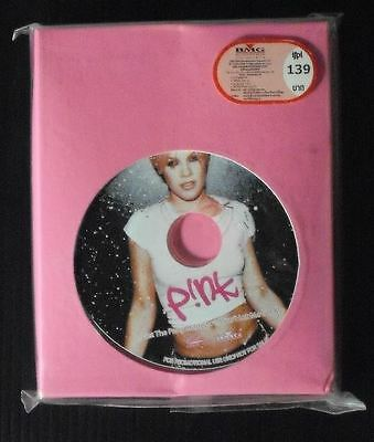 """P!nk Pink MISSUNDAZTOOD Thai Limited Edition Cassette + Promo 3"""" VIDEO CD New"""