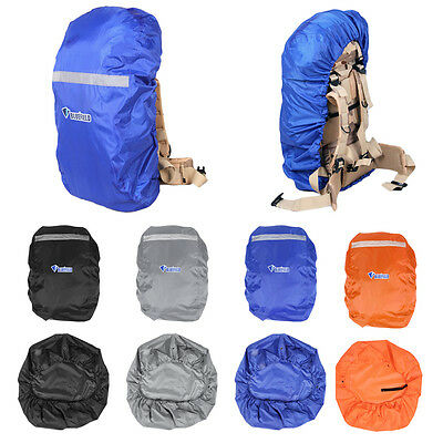 Outdoor Camping Hiking Waterproof 35-80L Backpack Should Bag Rain Proof Cover IB