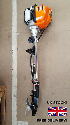 Outboard Motor 1.2Hp For Tenders, Canoes, Light Fishing Boats 4 Stroke Engine