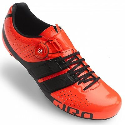 Giro Factor Techlace Cycling Shoes Vermillion