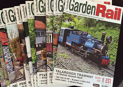 Garden Rail Magazines The Only Monthly Mag For Outdoor Set-Ups No's 247 248, 249