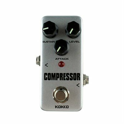 Aluminum Alloy FCP2 Mini Compressor Pedal Guitar Musical Instruments Effects LO