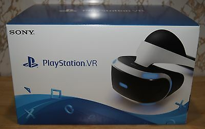 New! Sony PlayStation VR PSVR Virtual Reality Add-on Headset for PlayStation 4