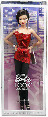 BARBIE LOOK CITY SHINE RED NRFB - NUOVA- model doll collection collezione Mattel