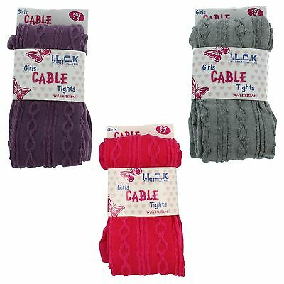 Girls I.L.C.K Cable Knit Tights Label 46B200