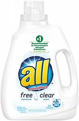 All Free Clear Laundry Detergent, 94.5 Ounce