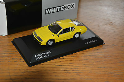 Alpine Renault A310 1600 gelb  1:43 White Box