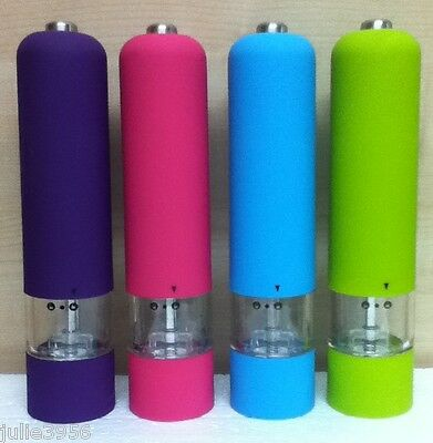 Kitchen Craft Colour Works Electric Salt/pepper Mill