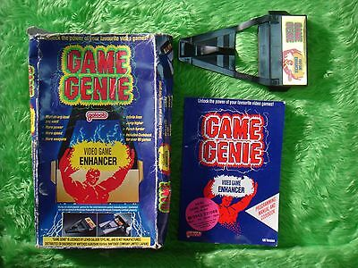 GAME GENIE For The NES Video Game Enhancer + Code Book BOXED