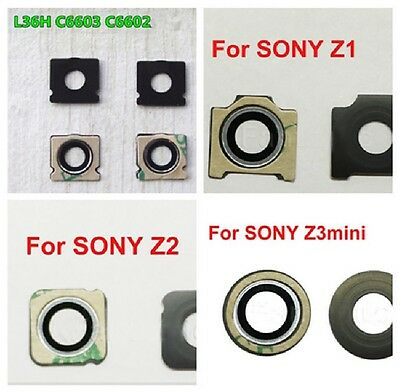 For Sony Xperia Z Z1 Z2 Z3 Compact Rear Camera Glass Lens Replacement & Adhesive