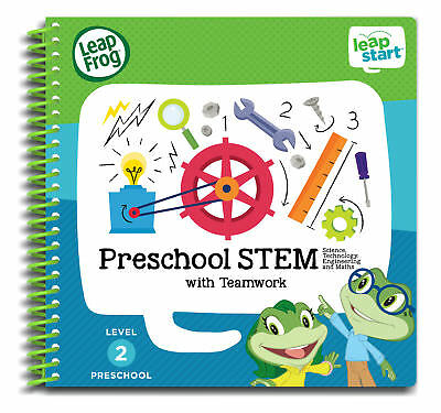 Leapfrog Leapstart Level 2, Preschool Stem With Teamwork 30+ Page Activity Book