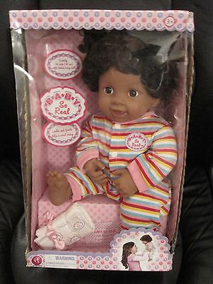 Baby So Real Irwin Toys Baby Doll New in Box