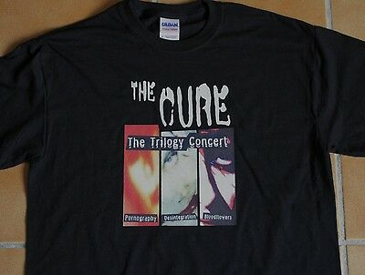 "T-Shirt THE CURE ""Trilogy Concert"""