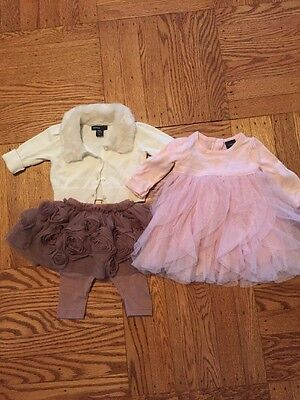 Lot: 2 Gap Outfits, Size 0-3 Months Girls, EUC