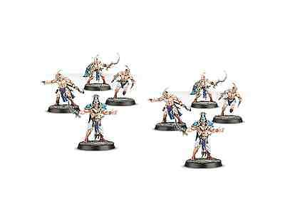 Age of Sigmar Chaos Tzeentch Kairic Acolytes from Warhammer Quest Silver Tower