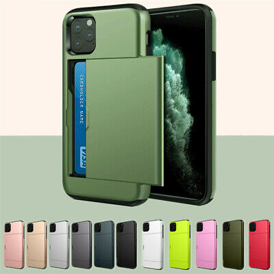 Shockproof Wallet Credit Card Pocket Holder Case Cover For iPhone X 8 6 7 XS Max