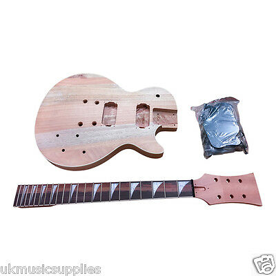 LP x 3 types Pre-drilled Student & Luthier Electric Guitar Build Your DIY KITS
