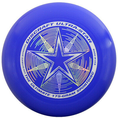 NEW Discraft ULTRA-STAR 175g Ultimate Frisbee Disc - ROYAL BLUE