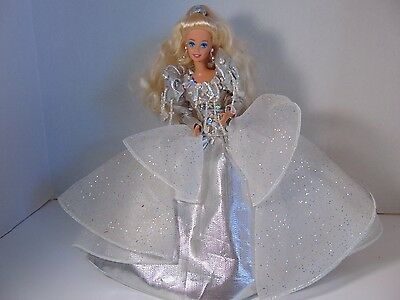 HAPPY HOLIDAYS 1992 BARBIE SPECIAL EDITION DOLL Silver Gown Blonde