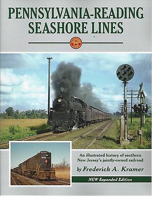 PENNSYLVANIA - READING SEASHORE LINES in southern New Jersey (NEW BOOK)