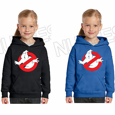 Ghost Busters Movie Inspired Kids Unisex Hooded Sweatshirt Hoodie 5-6 to 12-13