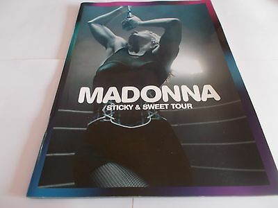 Madonna Sticky And Sweet Tour Programme