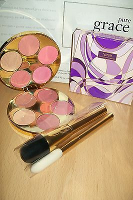 tarte limited edition colour wheel blush palette new & boxed with 2 brushes