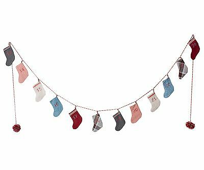 Maileg - Calendar Sock Garland in Tin Box