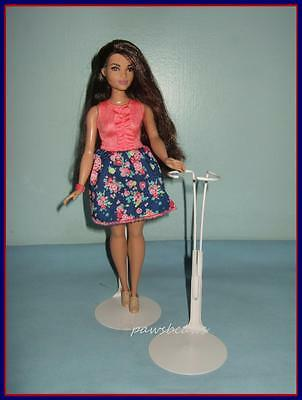 Pale Pink Kaiser Doll Stand fits Curvy Barbie FASHIONISTAS Harlem Theater