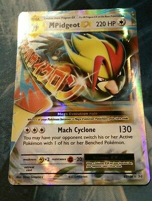 Pokemon TCG: Mega Pidgeot EX 65/108 XY Evolutions Near Mint!