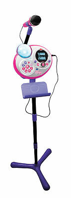 VTech Kidi Super Star Childs Microphone / Childs Karaoke Machine (Purple)