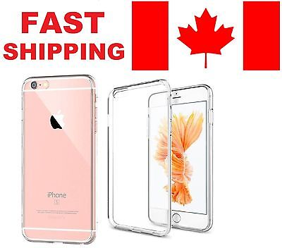 """iPhone 7 Case (4.7 """") - Crystal Clear Soft Gel Case + Free Screen Protector"""