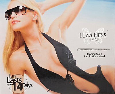 Luminess Air Tanning Kit , complete personal airbrush tanning system