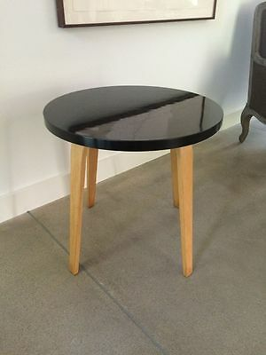 Original 1930s Vintage Alvar Aalto Style Bent Birch Plywood Side Table Art Deco