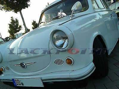 7 Liter Set 2K Car paint Toga White Trabant GDR Lackpoint no clear coat new