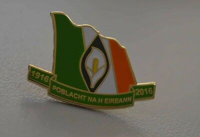 Easter Rising Centenary Pin / Lapel Badge - Lilly Ireland 1916 Irish Republic