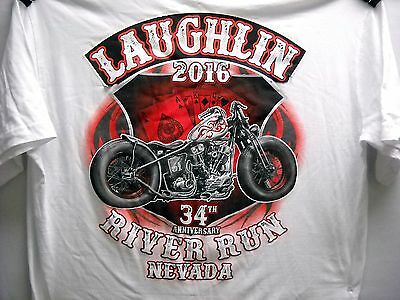 Laughlin River Run Official 2016 T-Shirt Size 4x -  NEW