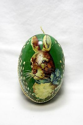 Antique German Lithographed Easter Egg Candy Container
