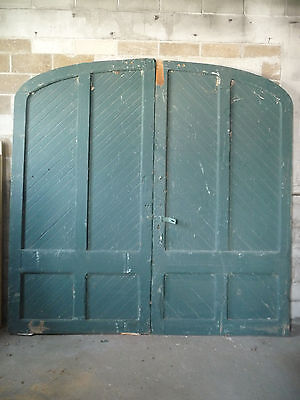 Antique Victorian Carriage House Doors - C. 1890 Fir Architectural Salvage