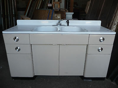 Vintage Sears and Roebuck Kitchen Sink Cabinet - C. 1950 Architectural Salvage