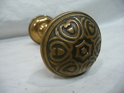 Antique Victorian Style Door Knob - Circa 1880 Ornate Architectural Salvage