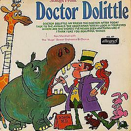 Songs From Doctor Dolittle - Allegro Records - 1968 #746243
