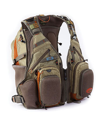 Fishpond Wildhorse Tech Pack Bag Backpack Fishing Vest w/ Fly Benches- Driftwood