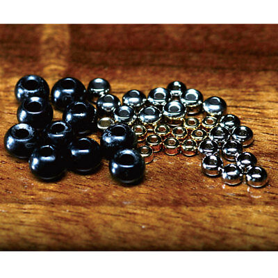 Hareline Tungsten Beads Fly Tying Materials Assorted Colors Various Sizes