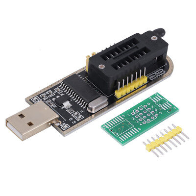 25 SPI Series 24 EEPROM CH341A BIOS Writer Routing LCD Flash USB Programmer FO