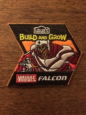 Marvel Avengers Lowes Build And Grow Patch Falcon