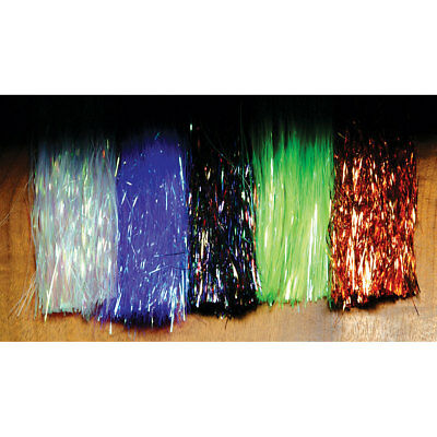 Hedron Flashabou Tinsel Fly Tying Materials Assorted Colors