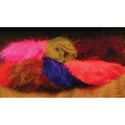Hareline Marabou Strung Blood Quills Fly Tying Materials Assorted Colors