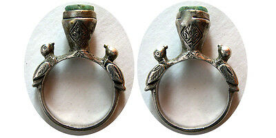 PCW-AN241-SELJUQ. 12th-14th. Century AD. Silver Ring size 9. Lovely style. Rare.