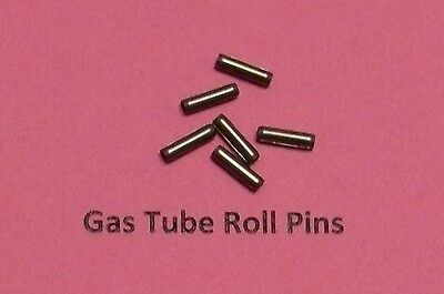 12  SPIRAL COILED HARD SS GAS SYSTEM ROLL PINS Mil Spec MADE IN USA